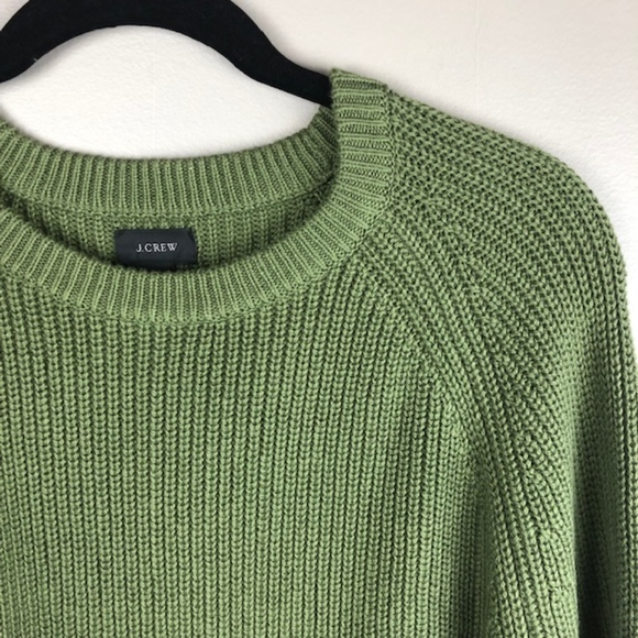 NWT J. Crew | Mens Cable Knit Sweater XL Green NWT